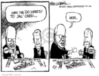 Cartoonist Mike Luckovich  Mike Luckovich's Editorial Cartoons 2007-06-06 card