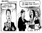 Cartoonist Mike Luckovich  Mike Luckovich's Editorial Cartoons 2007-07-12 double