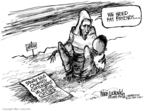 Cartoonist Mike Luckovich  Mike Luckovich's Editorial Cartoons 2007-07-27 poverty
