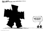 Cartoonist Mike Luckovich  Mike Luckovich's Editorial Cartoons 2007-08-09 Major League Baseball