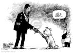 Cartoonist Mike Luckovich  Mike Luckovich's Editorial Cartoons 2007-08-28 animal cruelty
