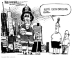 Cartoonist Mike Luckovich  Mike Luckovich's Editorial Cartoons 2007-09-04 action