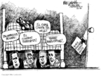 Cartoonist Mike Luckovich  Mike Luckovich's Editorial Cartoons 2007-11-02 2008 debate