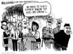 Cartoonist Mike Luckovich  Mike Luckovich's Editorial Cartoons 2007-11-09 drug