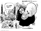 Cartoonist Mike Luckovich  Mike Luckovich's Editorial Cartoons 2007-11-20 New York