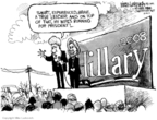 Cartoonist Mike Luckovich  Mike Luckovich's Editorial Cartoons 2007-12-03 2008 election endorsement