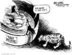 Cartoonist Mike Luckovich  Mike Luckovich's Editorial Cartoons 2007-12-29 cat