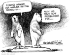 Cartoonist Mike Luckovich  Mike Luckovich's Editorial Cartoons 2008-01-07 ice