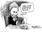 Cartoonist Mike Luckovich  Mike Luckovich's Editorial Cartoons 2008-01-15 card