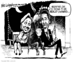 Cartoonist Mike Luckovich  Mike Luckovich's Editorial Cartoons 2008-02-06 2008 primary