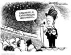Cartoonist Mike Luckovich  Mike Luckovich's Editorial Cartoons 2008-02-11 2008 primary
