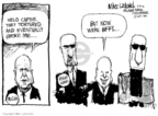 Cartoonist Mike Luckovich  Mike Luckovich's Editorial Cartoons 2008-02-21 2008 primary