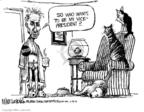 Cartoonist Mike Luckovich  Mike Luckovich's Editorial Cartoons 2008-02-27 cat