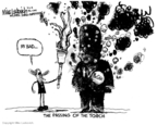 Cartoonist Mike Luckovich  Mike Luckovich's Editorial Cartoons 2008-03-06 2008 election endorsement