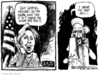 Cartoonist Mike Luckovich  Mike Luckovich's Editorial Cartoons 2008-03-09 3am