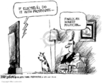 Cartoonist Mike Luckovich  Mike Luckovich's Editorial Cartoons 2008-03-11 New York