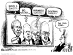Cartoonist Mike Luckovich  Mike Luckovich's Editorial Cartoons 2008-03-19 basketball
