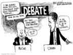 Cartoonist Mike Luckovich  Mike Luckovich's Editorial Cartoons 2008-05-12 2008 debate