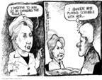 Cartoonist Mike Luckovich  Mike Luckovich's Editorial Cartoons 2008-05-23 2008 primary