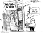 Cartoonist Mike Luckovich  Mike Luckovich's Editorial Cartoons 2008-06-03 2008 primary