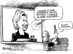 Cartoonist Mike Luckovich  Mike Luckovich's Editorial Cartoons 2008-06-06 2008 primary