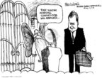 Cartoonist Mike Luckovich  Mike Luckovich's Editorial Cartoons 2008-06-17 heaven