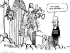 Cartoonist Mike Luckovich  Mike Luckovich's Editorial Cartoons 2008-06-24 Saint Peter