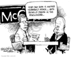 Cartoonist Mike Luckovich  Mike Luckovich's Editorial Cartoons 2008-06-25 manager