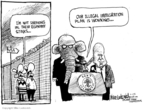 Cartoonist Mike Luckovich  Mike Luckovich's Editorial Cartoons 2008-07-17 illegal