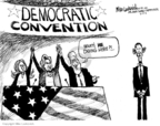 Cartoonist Mike Luckovich  Mike Luckovich's Editorial Cartoons 2008-08-15 2008 political convention