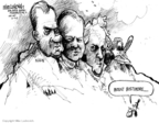 Cartoonist Mike Luckovich  Mike Luckovich's Editorial Cartoons 2008-10-02 James