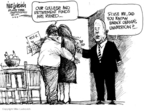 Cartoonist Mike Luckovich  Mike Luckovich's Editorial Cartoons 2008-10-08 2008 election