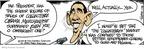 Cartoonist Bruce Tinsley  Mallard Fillmore 2009-01-28 collectible