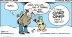 Comic Strip Bruce Tinsley  Mallard Fillmore 2009-03-15 cold