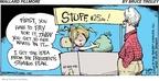 Cartoonist Bruce Tinsley  Mallard Fillmore 2009-03-29 $25