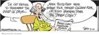 Cartoonist Bruce Tinsley  Mallard Fillmore 2009-08-28 1960s