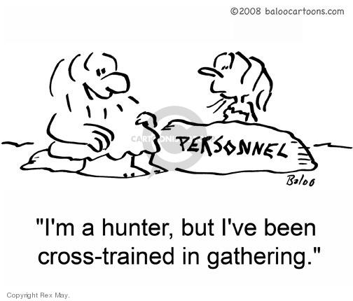 Cartoonist Rex May  Rex May Gag Cartoons 2009-03-09 employment training