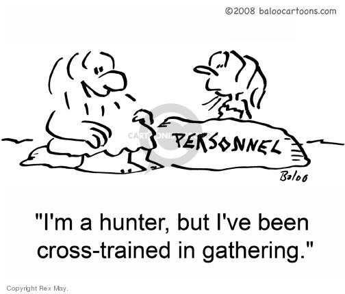Cartoonist Rex May  Rex May Gag Cartoons 2009-03-19 employment training