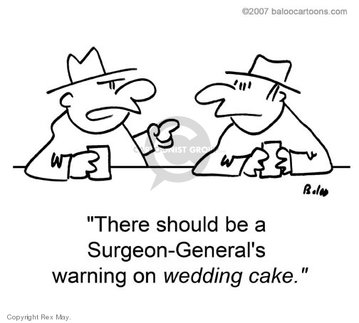 Cartoonist Rex May  Rex May Gag Cartoons 2008-10-16 cake