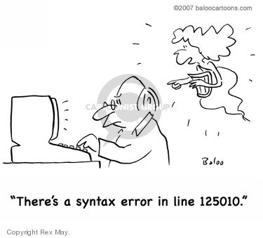 Cartoonist Rex May  Rex May Gag Cartoons 2008-02-18 inspiration