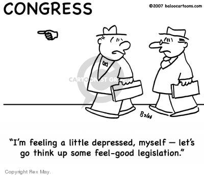 Cartoonist Rex May  Rex May Gag Cartoons 2008-01-24 legislation