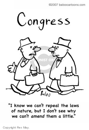 Cartoonist Rex May  Rex May Gag Cartoons 2008-01-30 legislation