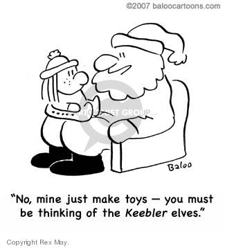 Cartoonist Rex May  Rex May Gag Cartoons 2008-02-16 cookie