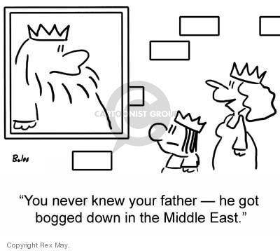 Cartoonist Rex May  Rex May Gag Cartoons 2007-04-03 family