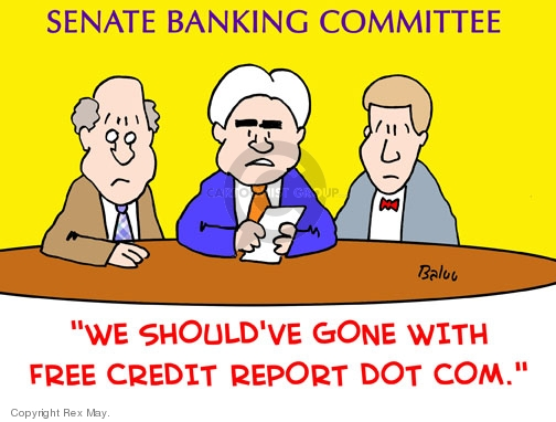 Cartoonist Rex May  Rex May Gag Cartoons 2008-10-25 senator