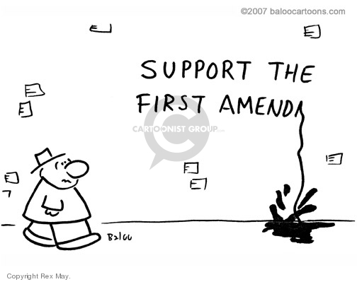 Support the first amend…