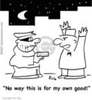 Cartoonist Rex May  Rex May Gag Cartoons 2009-03-30 gun