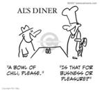 Cartoonist Rex May  Rex May Gag Cartoons 2009-04-22 food