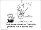 Cartoonist Rex May  Rex May Gag Cartoons 2007-03-09 education