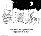 Cartoonist Rex May  Rex May Gag Cartoons 2007-06-16 genetic science